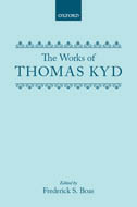 The Works of Thomas Kyd