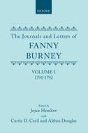 The Journals and Letters of Fanny Burney (Madame d'Arblay), Vol. 1: 1791–1792: Letters 1–39Letters 1–39