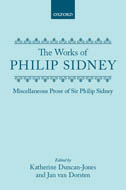 Miscellaneous Prose of Sir Philip Sidney