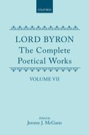 Lord Byron: The Complete Poetical Works, Vol. 7
