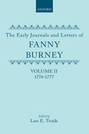 The Early Journals and Letters of Fanny Burney, Vol. 2: 1774-17771774-1777