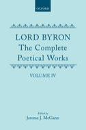 Lord Byron: The Complete Poetical Works, Vol. 4