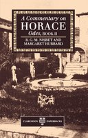 A Commentary on Horace: Odes, Book IIOdes, Book II