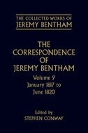 The Collected Works of Jeremy Bentham: The Correspondence of Jeremy Bentham, Vol. 9: January 1817 to June 1820January 1817 to June 1820
