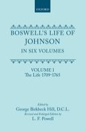 Boswell's Life of Johnson, Vol. 1: The Life (1709-1765)The Life (1709-1765)
