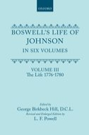 Boswell's Life of Johnson, Vol. 3: The Life (1776-1780)The Life (1776-1780)