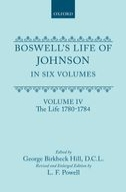 Boswell's Life of Johnson, Vol. 4: The Life (1780-1784)The Life (1780-1784)