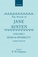 The Novels of Jane Austen, Vol. 1: Sense and Sensibility (Third Revised Edition)
