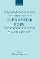 The Correspondence of Alexander Pope, Vol. 1: 1704–1718
