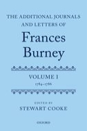 The Additional Journals and Letters of Frances Burney, Vol. 1: 1784–1786