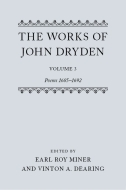 The Works of John Dryden, Vol. 3: Poems 1685–1692